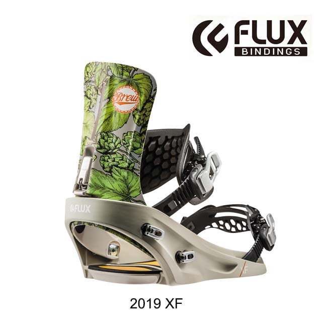 2019 FLUX フラックス XF バインディング BINDING XF BREW スノーボード ビンディング SNOWBOARD BINDING