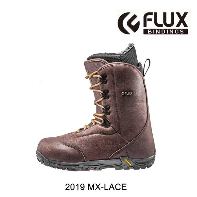 2019 FLUX 直営限定アウトレット フラックス 限定特価 エムエックス レース MX-LACE CHOCOLATE BOOT メンズ ブーツ SNOWBOARD スノーボード MEN'S