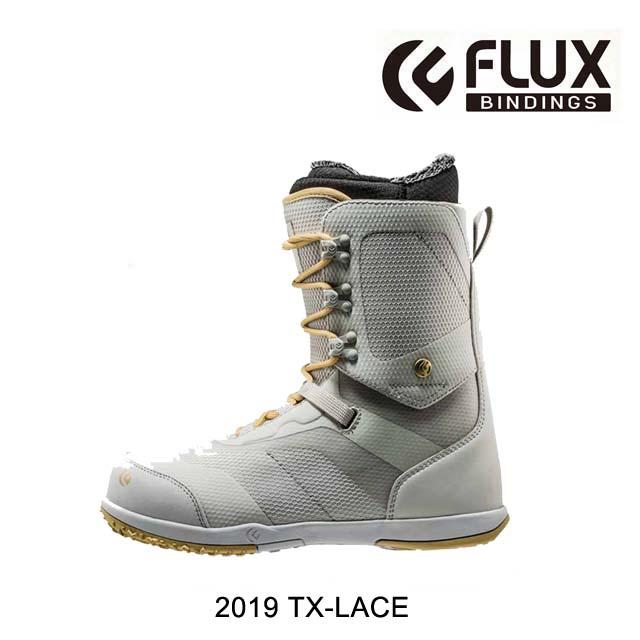 2019 FLUX フラックス ティーエックス レース おしゃれ 2020 TX-LACE WHITE SNOWBOARD MEN'S ブーツ スノーボード メンズ GOLD BOOT