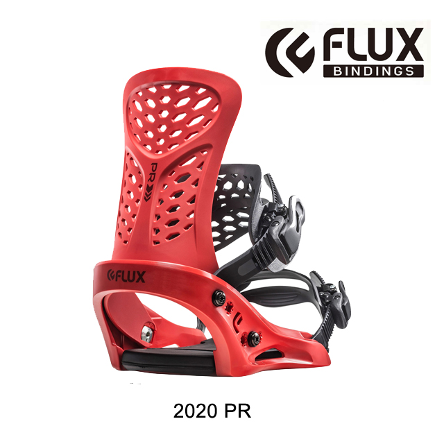 2020 FLUX フラックス PR バインディング BINDING PR RED スノーボード ビンディング SNOWBOARD BINDING