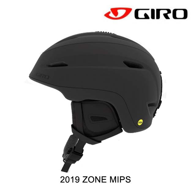 2019 GIRO ジロ ヘルメット HELMET ZONE MIPS MATTE BLACK