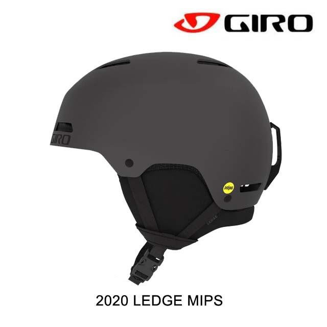2020 GIRO ジロ レッジ ミップス LEDGE MIPS MATTE GRAPHITE スノーボード ヘルメット SNOWBOARD HELMET