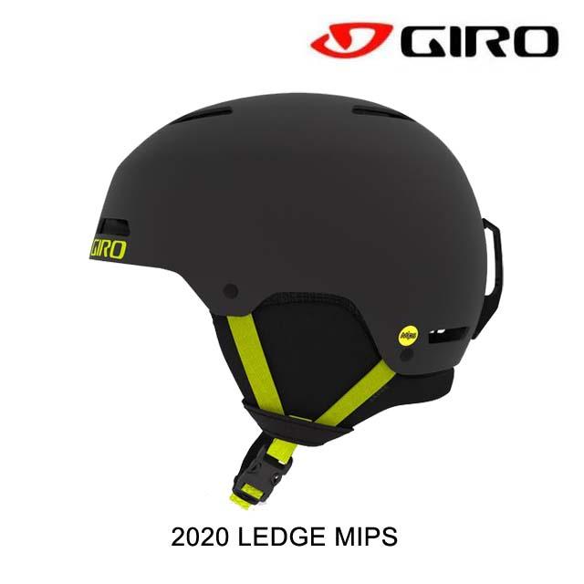 2020 GIRO ジロ レッジ ミップス LEDGE MIPS MATTE WARM BLAK/CITRON スノーボード ヘルメット SNOWBOARD HELMET