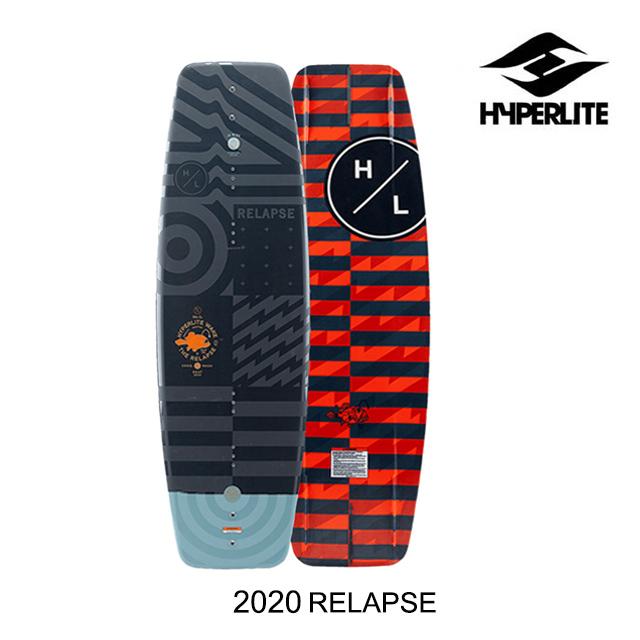 2020 HYPERLITE ハイパーライト ウェイクボード WAKEBOARD RELAPSE 136