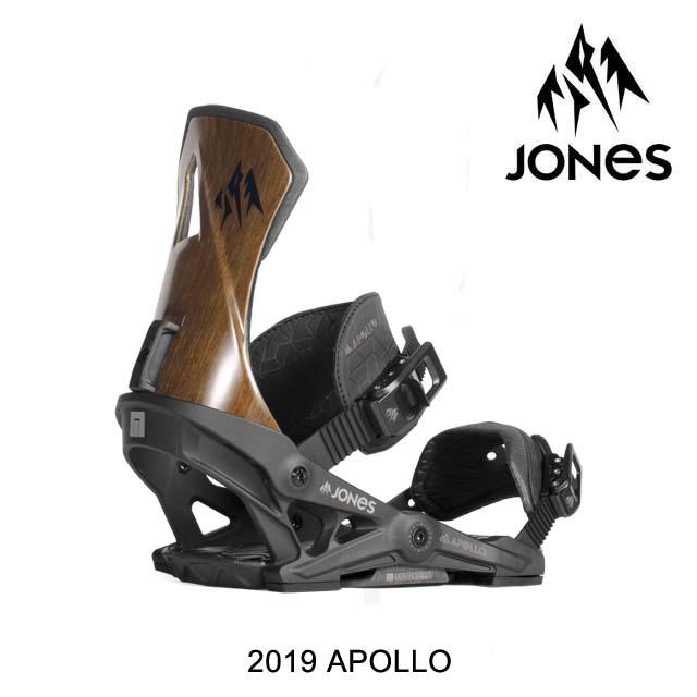 2019 JONES ジョーンズ バインディング BINDING APOLLO BLACK