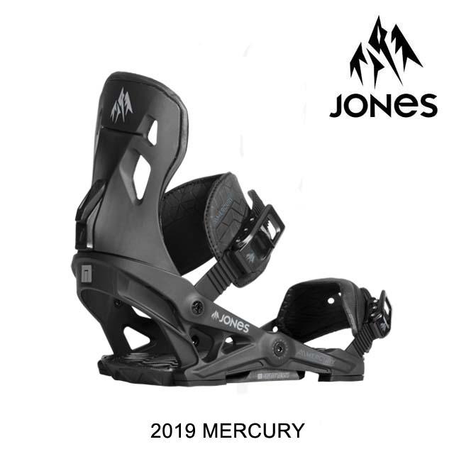 2019 JONES ジョーンズ バインディング BINDING MERCURY BLACK
