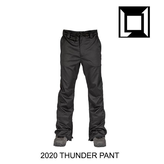 2020 L1 エルワン サンダー パンツ BLACK PANT 訳あり THUNDER 高品質新品 ウエア スノーボード