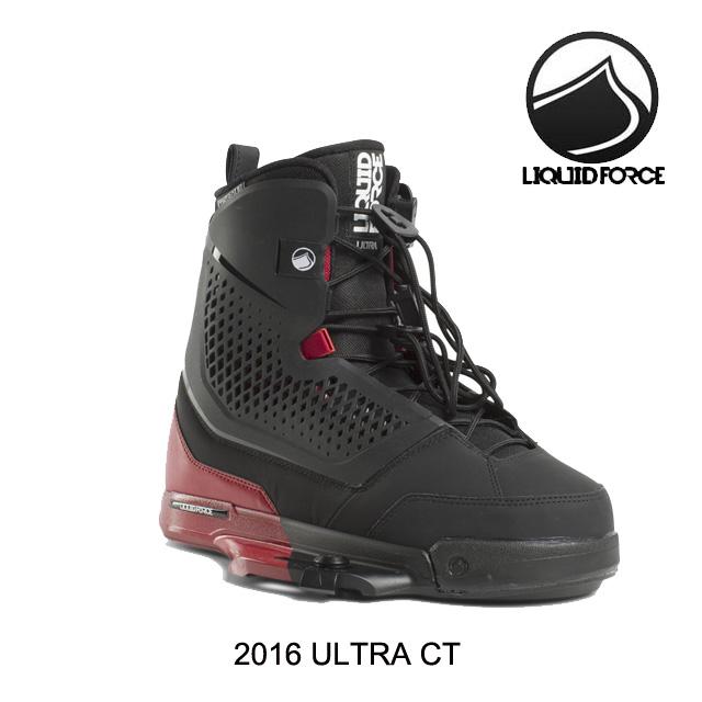 2016 LIQUID FORCE リキッドフォース ウルトラ バインディング BINDING ULTRA BLACK/RED ウエイクボード ビンディング WAKEBOARD BINDING