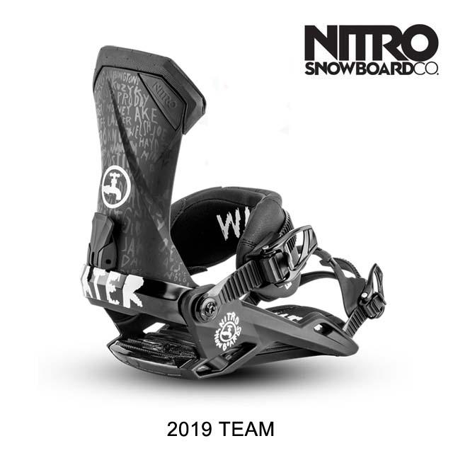2019 NITRO ナイトロ バインディング BINDING TEAM DRINK WATER