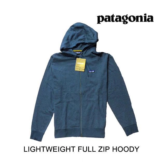 2017 PATAGONIA パタゴニア フーディー LIGHTWEIGHT FULL-ZIP HOODY BYBU BAY 青 52280