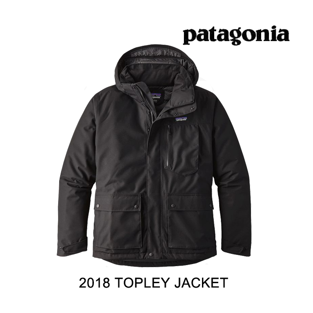 2018 PATAGONIA パタゴニア ジャケット TOPLEY JACKET BLK BLACK