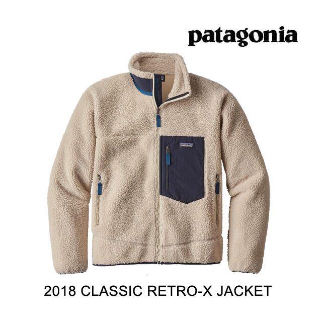 2018 PATAGONIA パタゴニア ジャケット CLASSIC RETRO-X JACKET NAT NATURAL