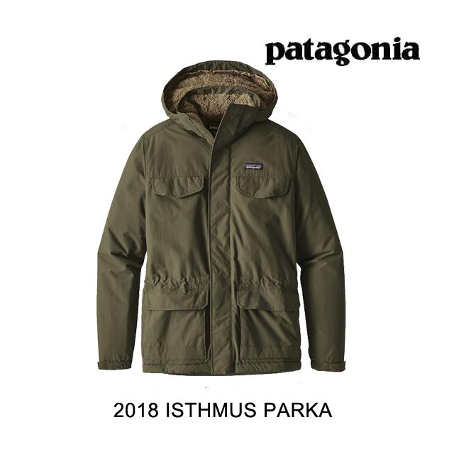 2018 PATAGONIA パタゴニア ジャケット ISTHMUS PARKA INDG INDUSTRIAL GREEN