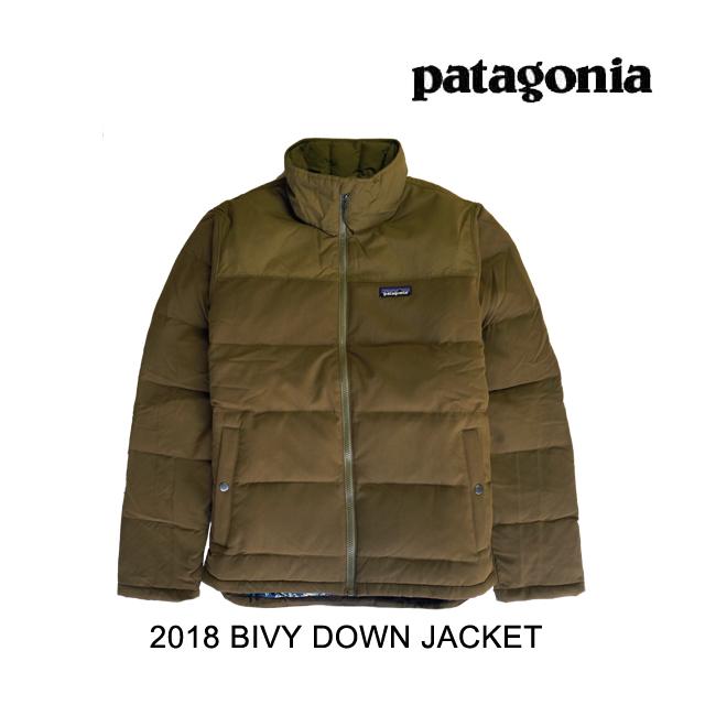 2018 PATAGONIA パタゴニア ジャケット BIVY DOWN JACKET SEMT SEDIMENT