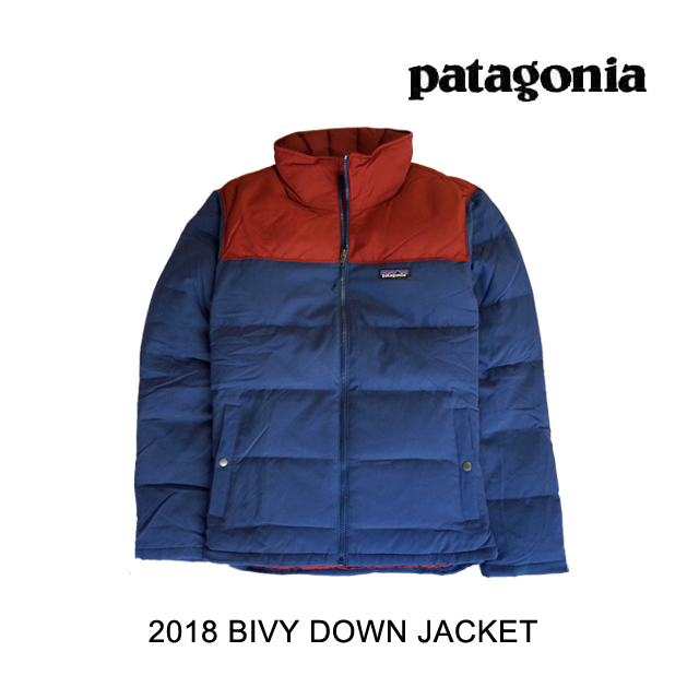 2018 PATAGONIA パタゴニア ジャケット BIVY DOWN JACKET SNBL STONE BLUE