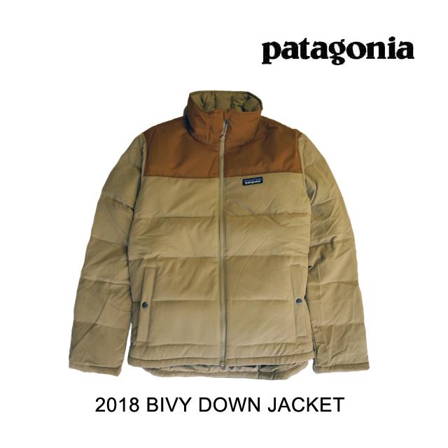 2018 PATAGONIA パタゴニア ジャケット BIVY DOWN JACKET MJVK MOJAVE KHAKI