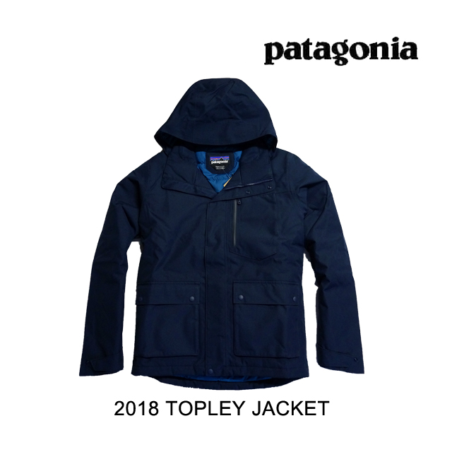 2018 PATAGONIA パタゴニア ジャケット TOPLEY JACKET NVYB NAVY BLUE