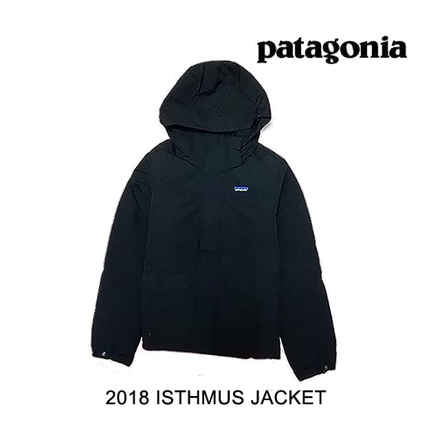2018 PATAGONIA パタゴニア ジャケット ISTHMUS JACKET BLK BLACK
