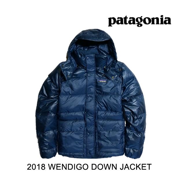 2018 PATAGONIA パタゴニア ジャケット WENDIGO DOWN JACKET SNBL STONE BLUE