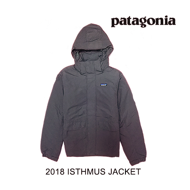 2018 PATAGONIA パタゴニア ジャケット ISTHMUS JACKET FGE FORGE GREY