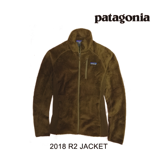 2018 PATAGONIA パタゴニア ジャケット R2 JACKET SEMT SEDIMENT