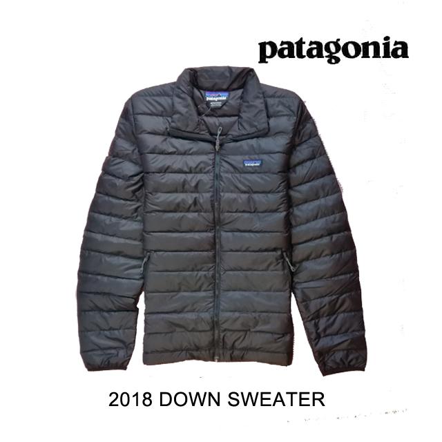 2018 PATAGONIA パタゴニア ダウンセーター DOWN SWEATER BLK BLACK