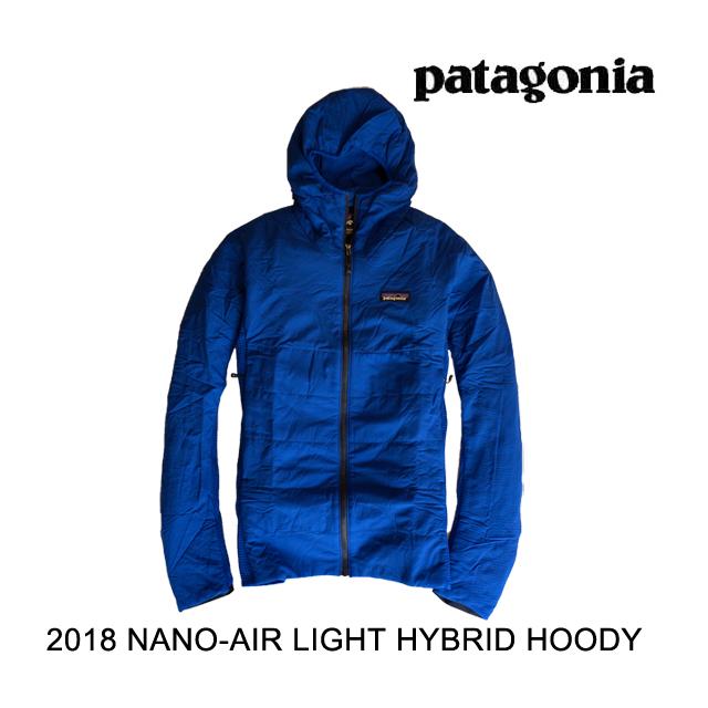 2018 PATAGONIA パタゴニア フーディー NANO-AIR LIGHT HYBRID HOODY VIK VIKING BLUE