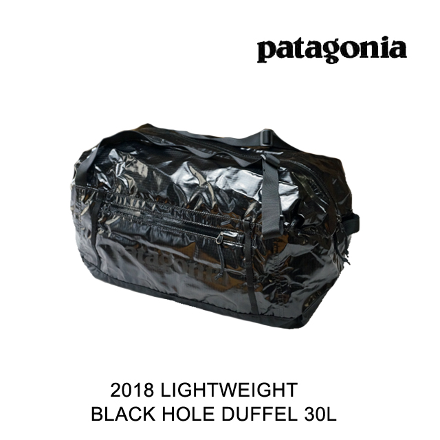 2018 PATAGONIA パタゴニア ボストンバッグ LIGHTWEIGHT BLACK HOLE DUFFEL 30L BLK BLACK