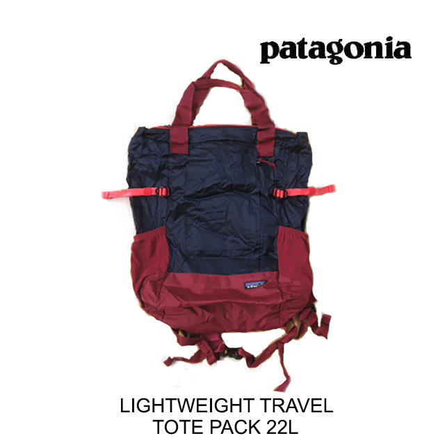 PATAGONIA パタゴニア トートバッグ LIGHTWEIGHT TRAVEL TOTE PACK 22L CNY CLASSIC NAVY