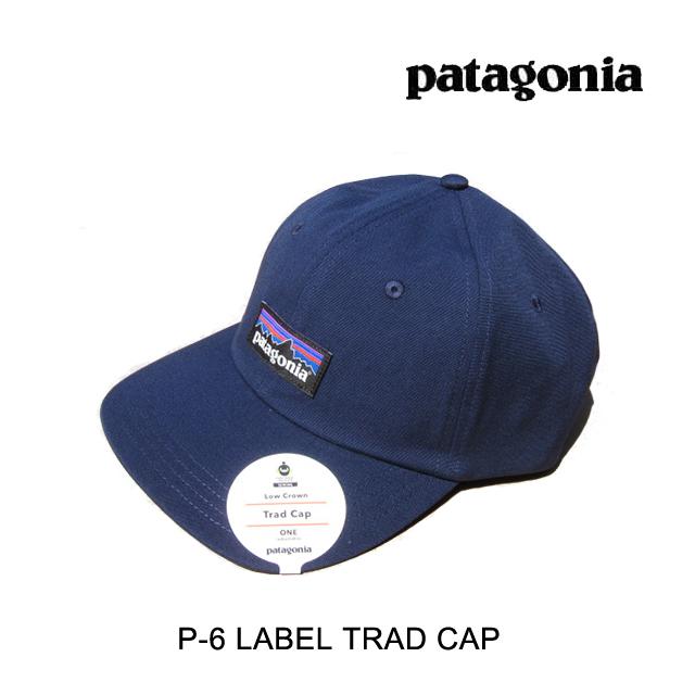 PATAGONIA パタゴニア 帽子 ハット P-6 LABEL TRAD CAP CNY CLASSIC NAVY 38207