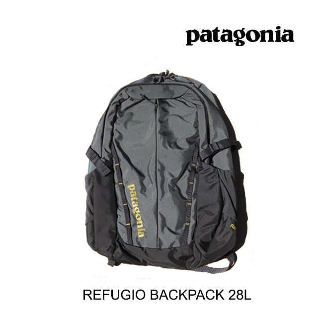 PATAGONIA パタゴニア バックパック REFUGIO PACK 28L FORT FORGE GREY W/TEXTILE GREEN