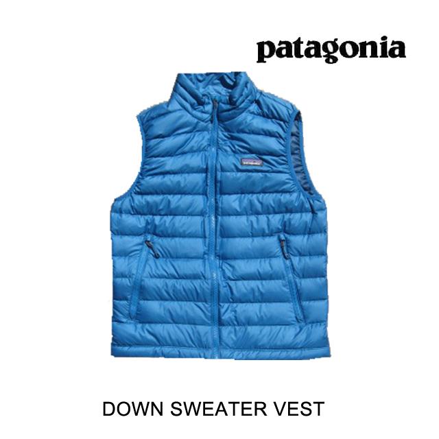 PATAGONIA パタゴニア ダウンベスト DOWN SWEATER VEST BALB BALKAN BLUE