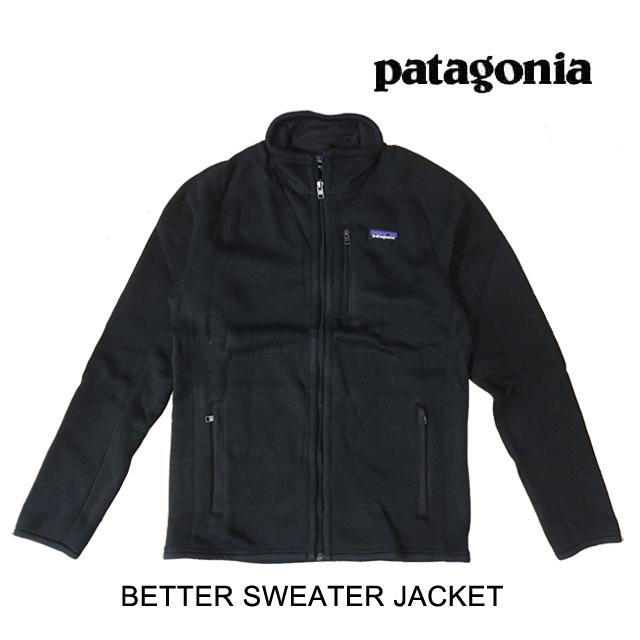PATAGONIA パタゴニア ジャケット BETTER SWEATER JACKET BLK BLACK 25528