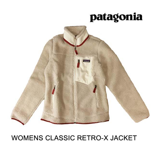 PATAGONIA パタゴニア レトロX ジャケット WOMEN'S CLASSIC RETRO-X JACKET NAOW NATURAL W/ OYSTER WHITE 23074