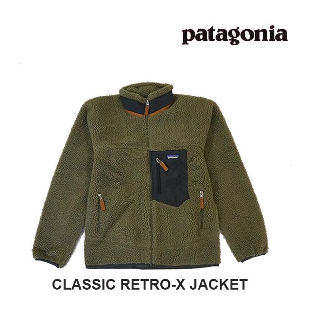 PATAGONIA パタゴニア ジャケット CLASSIC RETRO-X JACKET SKA SAGE KHAKI 23056