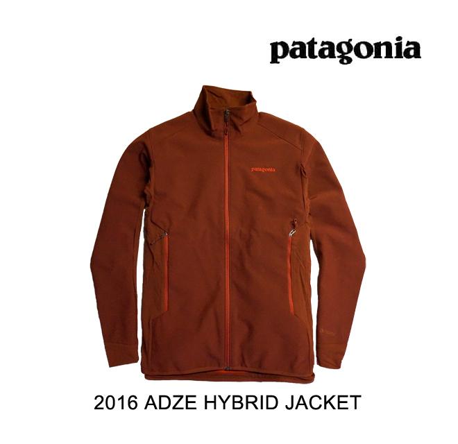 2016 PATAGONIA パタゴニア ジャケット ADZE HYBRID JACKET CDRR CINDER RED