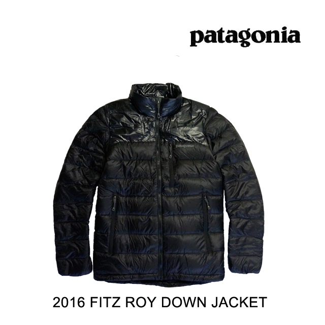 2016 PATAGONIA DOWN PATAGONIA パタゴニア ジャケット FITZ ROY DOWN JACKET BLK 2016 BLACK, 高清水町:659cbb5d --- acessoverde.com