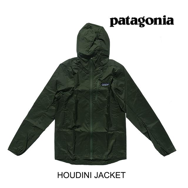 PATAGONIA パタゴニア フーディニ メンズ ジャケット HOUDINI JACKET INDG INDUSTRIAL GREEN 24142