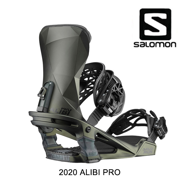 2020 SALOMON サロモン バインディング BINDING ALIBI PRO DARK OLIVE