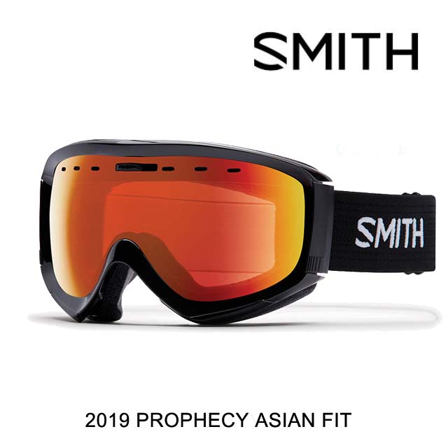 2019 SMITH スミス ゴーグル GOGGLE PROPHECY OTG BLACK/CHROMAPOP EVERYDAY RED MIRROR ASIAN FT