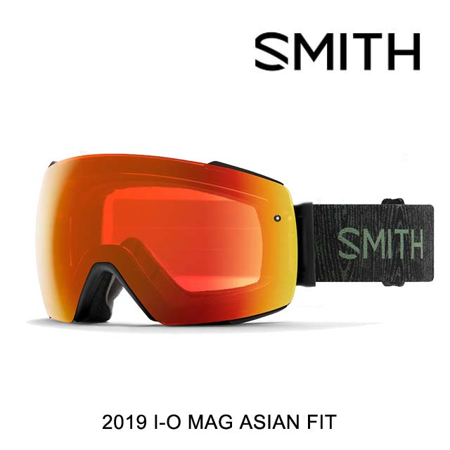 2019 SMITH スミス ゴーグル GOGGLE I/O MAG AC - JAKE BLAUVELT/CHROMAPOP EVERYDAY RED MIRROR+CHROMAPOP STORM ROSE FLASH ASIAN FIT