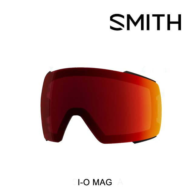SMITH スミス ゴーグル スペアレンズ GOGGLE I/O MAG LENS CHROMAPOP SUN RED MIRROR