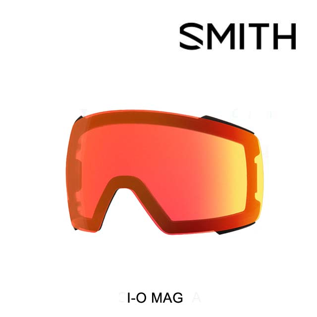 SMITH スミス ゴーグル スペアレンズ GOGGLE I/O MAG LENS CHROMAPOP EVERDAY RED MIRROR