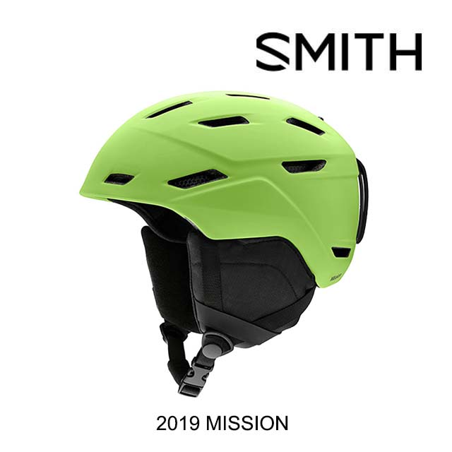 2019 SMITH スミス ヘルメット HELMET MISSION MATTE FLASH