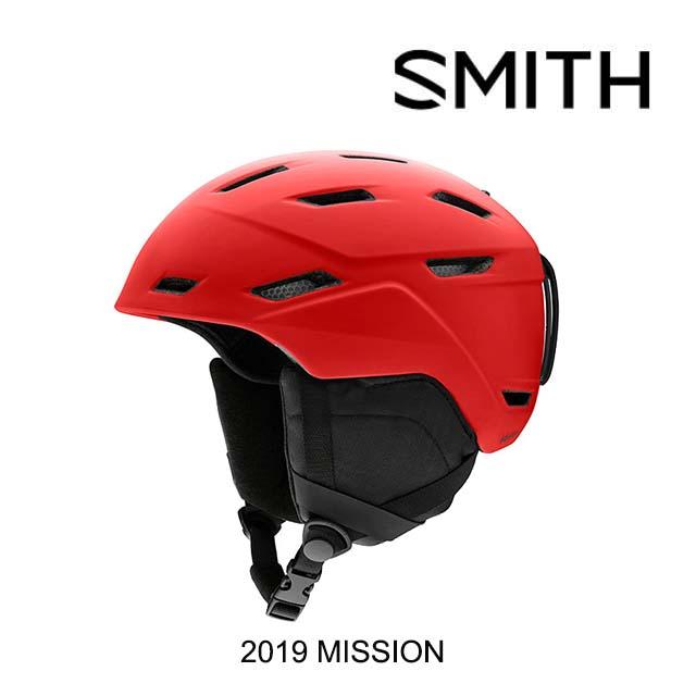 2019 SMITH スミス ヘルメット HELMET MISSION MATTE RISE