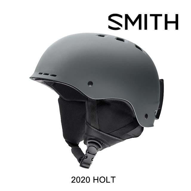 2020 SMITH スミス ヘルメット HELMET HOLT MATTE CHARCOAL