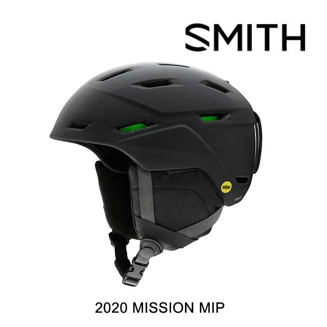 2020 SMITH スミス ミッション ヘルメット HELMET MISSION MIPS MATTE BLACK