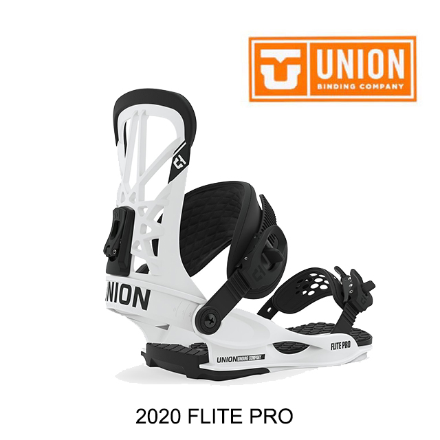 2020 UNION ユニオン フライト プロ バインディング BINDING FLITE PRO WHITE スノーボード ビンディング SNOWBOARD BINDING