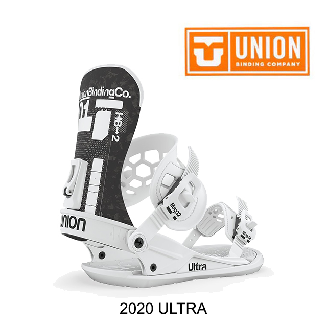 2020 UNION ユニオン バインディング BINDING ULTRA 白い