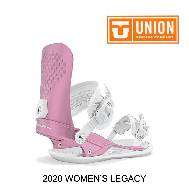 2020 UNION ユニオン レガシー レディース バインディング WOMEN'S BINDING LEGACY METALLIC PINK スノーボード ビンディング SNOWBOARD BINDING